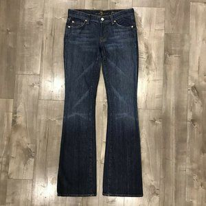 7 for All Mankind Flare Jeans 27x34
